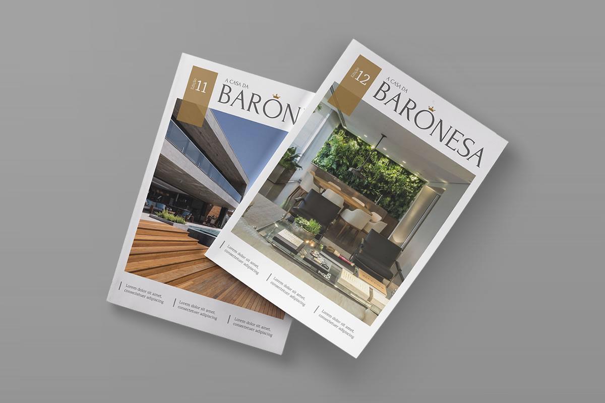 Criação de Revista de Arquitetura
