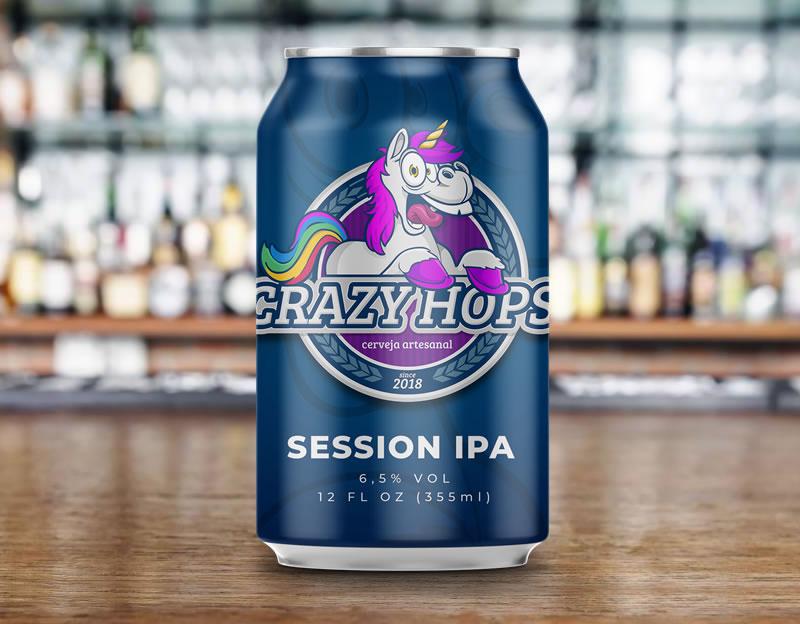 Cerveja Crazy Hops