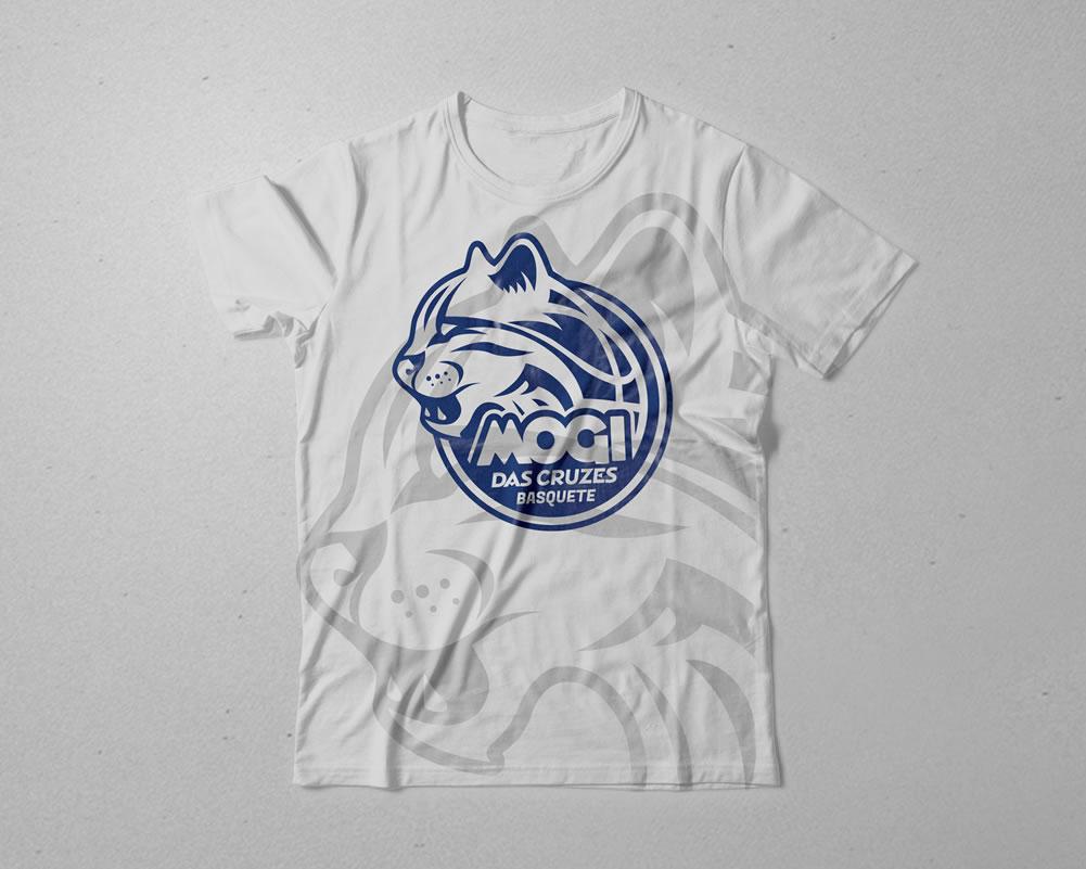 Mogi das Cruzes Basquete - Criação de arte para camisas