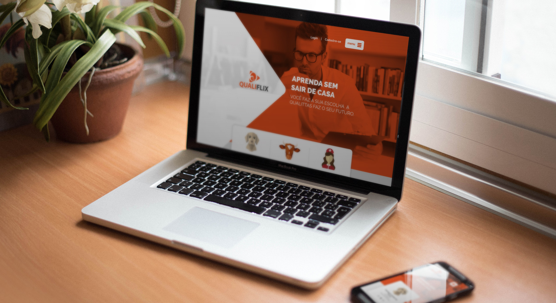 Portal de galeria de vídeos sobre demanda